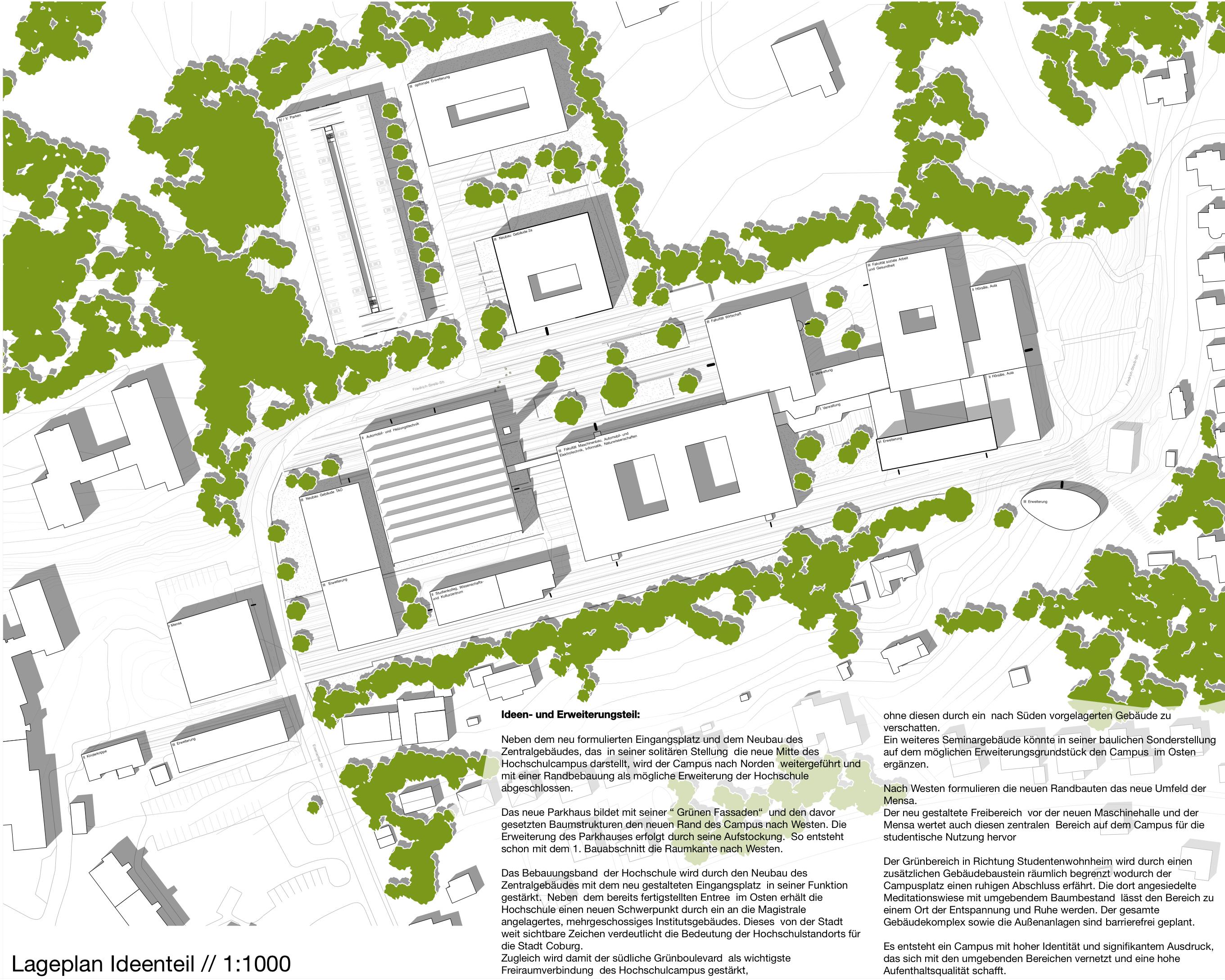 Result: Neubau Gebäude 2a der Hochschule Coburg mit...competitionline