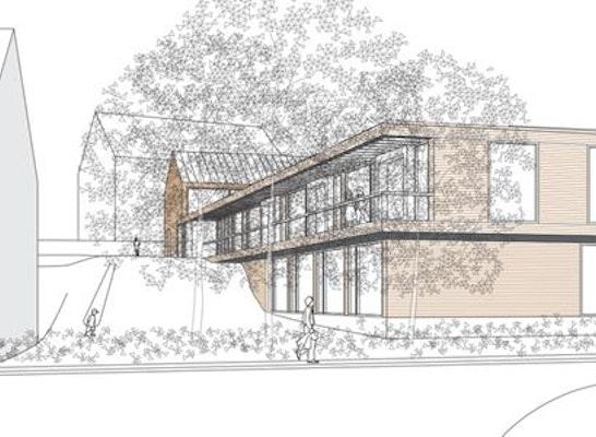 ergebnis gemeindezentrum kita und kindergarten. Black Bedroom Furniture Sets. Home Design Ideas