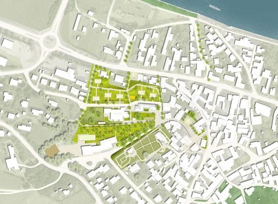 1. Preis: Städtebaulicher Entwurf, © bwp Bode, Williams + Partner / TAMANDUA Schmelzer Martinelli GbR