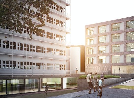 ein 1. Preis Zuschlag: Perspektive, © steimle architekten