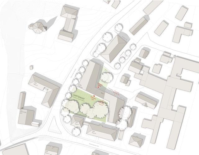 Ersatzbau Landratsamt Miesbach - Neubau eines Verwaltungsgebäudes einschließlich Außenanlagen