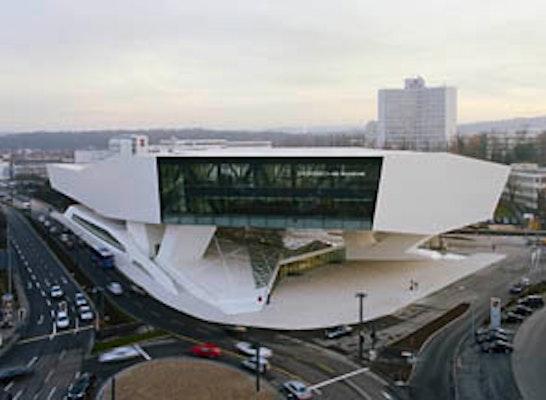 Ergebnis Neubau Porsche Museum In Stuttgart Zuffenh