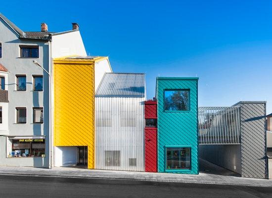 Haus der Tagesmütter, Selb. Deutschland Europan 9 Implementation 2008-2012 1. Preis Wettbewerb Europan 9 Selb