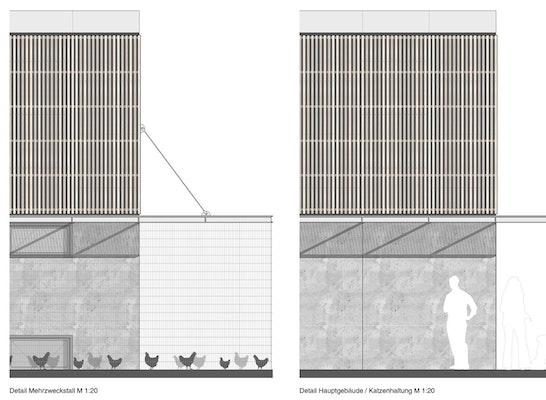 1. Preis: Ansichten, © Heinle, Wischer und Partner, Freie Architekten