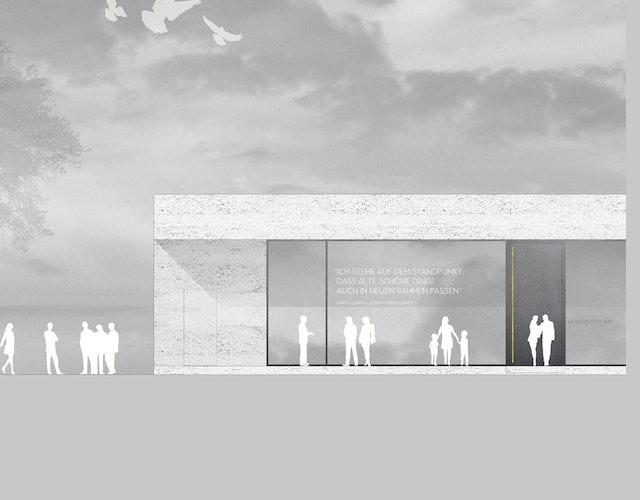 Besucherzentrum und städtebauliche Entwicklung Mathildenhöhe in Darmstadt
