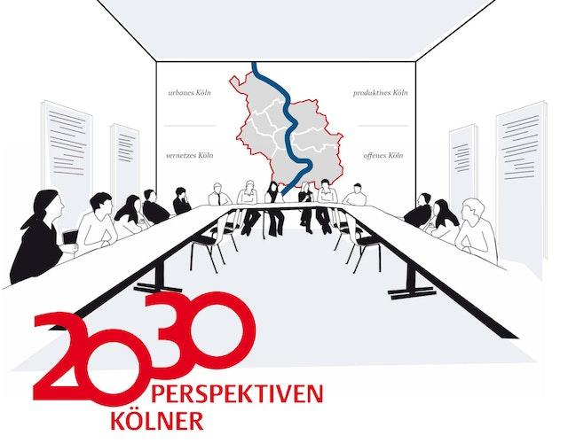 """Erarbeitung des Strategischen Stadtentwicklungskonzeptes """"Kölner Perspektiven 2030""""."""