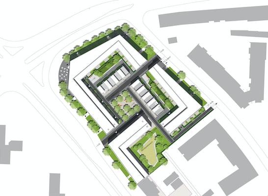 Zusammenarbeit mit Architekten Prof. Klaus Sill