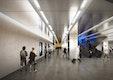 Wettbewerb U-Bahnhaltestelle Sendlinger Tor U1/U2 - Ebene -3 Verbindung OBERMEYER Planen + Beraten Day & Light Lichtplanung GbR