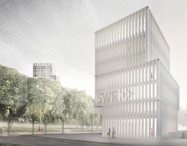 SWR Studioneubau in Mannheim / Ludwigshafen