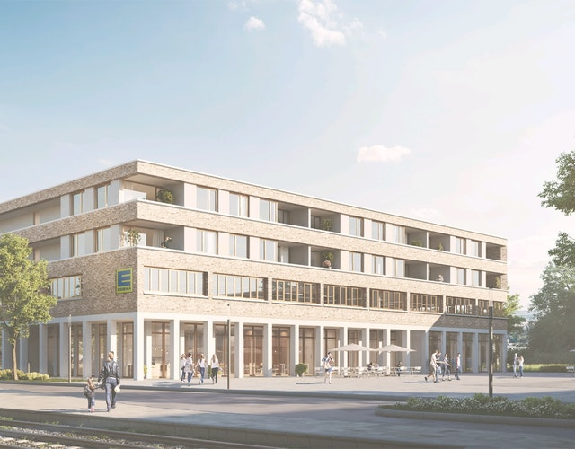 """Neubau von Wohngebäuden und Geschäftsgebäuden auf den Entwicklungsgrundstücken """"Neue Stadtmitte - Rheinstetten"""""""
