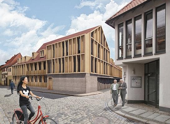 Innenarchitekt Quedlinburg ergebnis mut zur lücke architektenwettbewerbe 20 competitionline