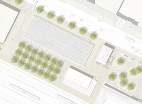 1. Preis Zuschlag Preisgruppe I Gebäude Regionaler Omnibusbahnhof