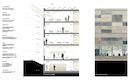 Fassadenschnitt Detailansicht