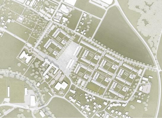 1. Preis: lageplan, © architekt wetschko