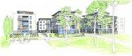 Konzeptioneller Städtebau   Ansicht Süd