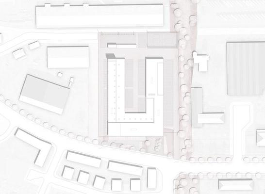 1. Preis Zuschlag: Lageplan, © TRU Architekten / HOLZWARTH Landschaftsarchitektur