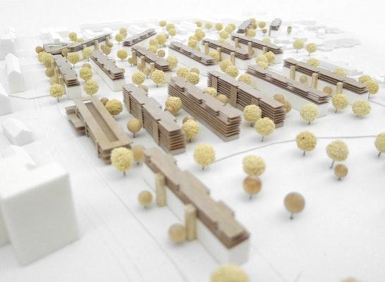 1. Preis: Modellfoto, © dürschinger architekten