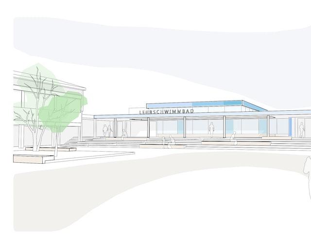 Neukonzeption Lehrschwimmbad Ernst-Göbel-Schule in Höchst im Odenwald