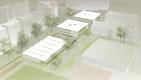 Ausbau des Schulstandorts am Jagdfeld - Perspektive - dasch zürn architekten