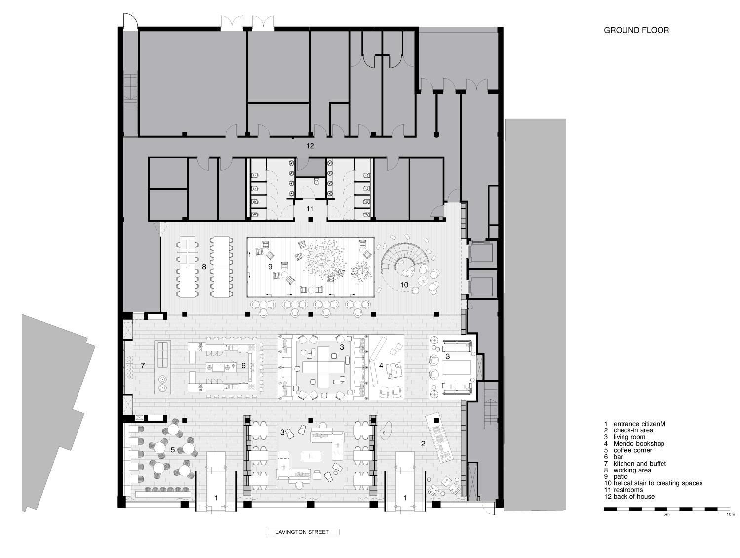 Project CitizenM Banksidecompetitionline - Citizenm london bankside by concrete architectural associates