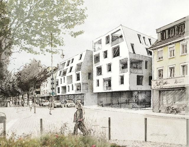 Wohn- und Geschäftsgebäude
