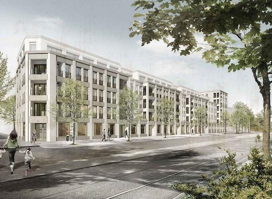 1. Preis LOS 1: 1. Preis Los 2: Fink+Jocher, Architekten und Stadtplaner, HinnenthalSchaar LandschaftsArchitekten, Peter Corbishley Modellbau