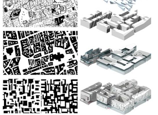 3 preis neubau des technischen rathauses competitionline for Architektur axonometrie