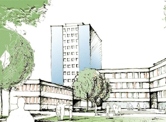 Architekt Paderborn ergebnis neubau technisches kreishaus competitionline
