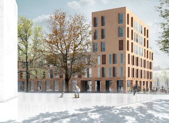 Ergebnis bauteil c quartier bahnhof petershausen w for Innenarchitektur herford