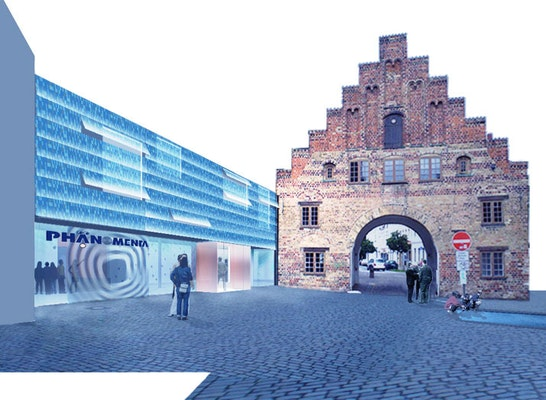 Eingangsperspektive I.C.-Möller Platz