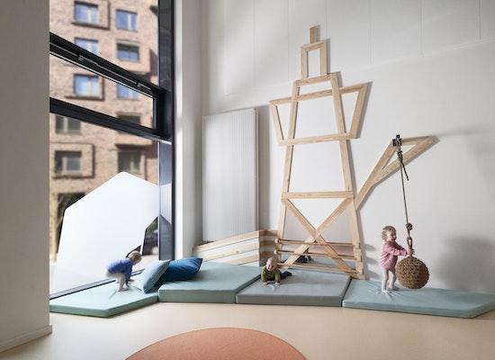 projekt kita companykids hafencity competitionline. Black Bedroom Furniture Sets. Home Design Ideas