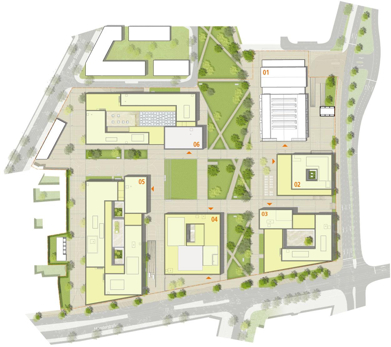 projekt neubau fachhochschule dsseldorf campus dcompetitionline - Fh Dusseldorf Bewerbung