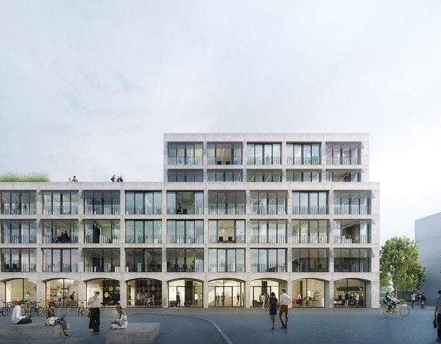 Neubau Kreativwirtschaftszentrum Alter Schlachthof 57