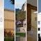 5 Preise: Haus UMS, Rubert-Neß-Gymnasium, Museum der Bayerischen Könige, Bürgeramt der Stadt Wangen, ke12 townhouse (v. l. n. r.)