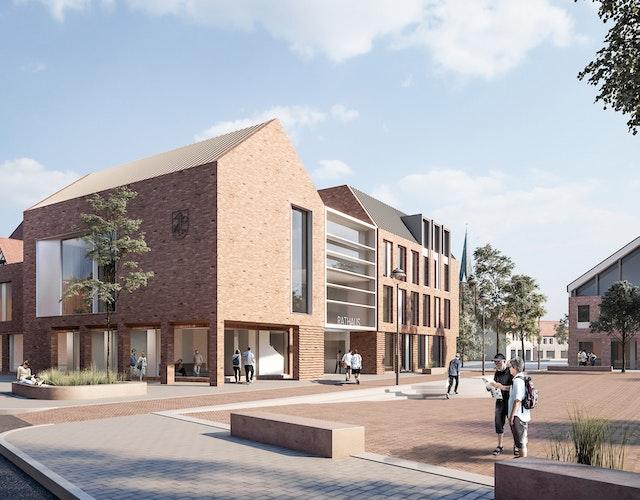Neubau des Rathauses in Dinklage