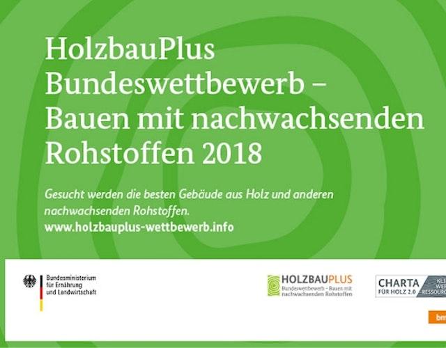 Bundeswettbewerb HolzbauPlus2018