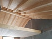 Holzbau Galerie und Dach / in Arbeit
