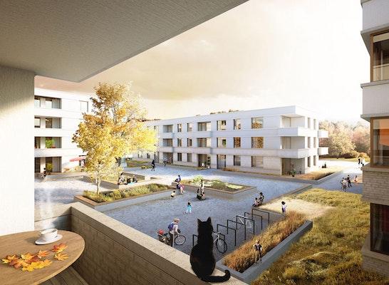 1. Preis Wohnen am Eisweiher - Wohnanlage mit Pflege...competitionline