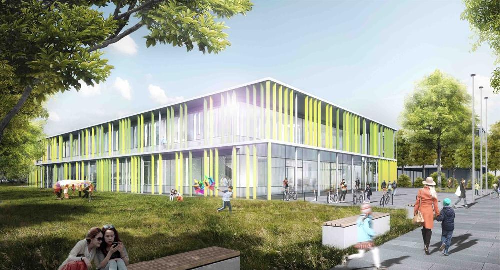 Architekt Wolfsburg ergebnis neubau der grundschule leonardo da vinci competitionline