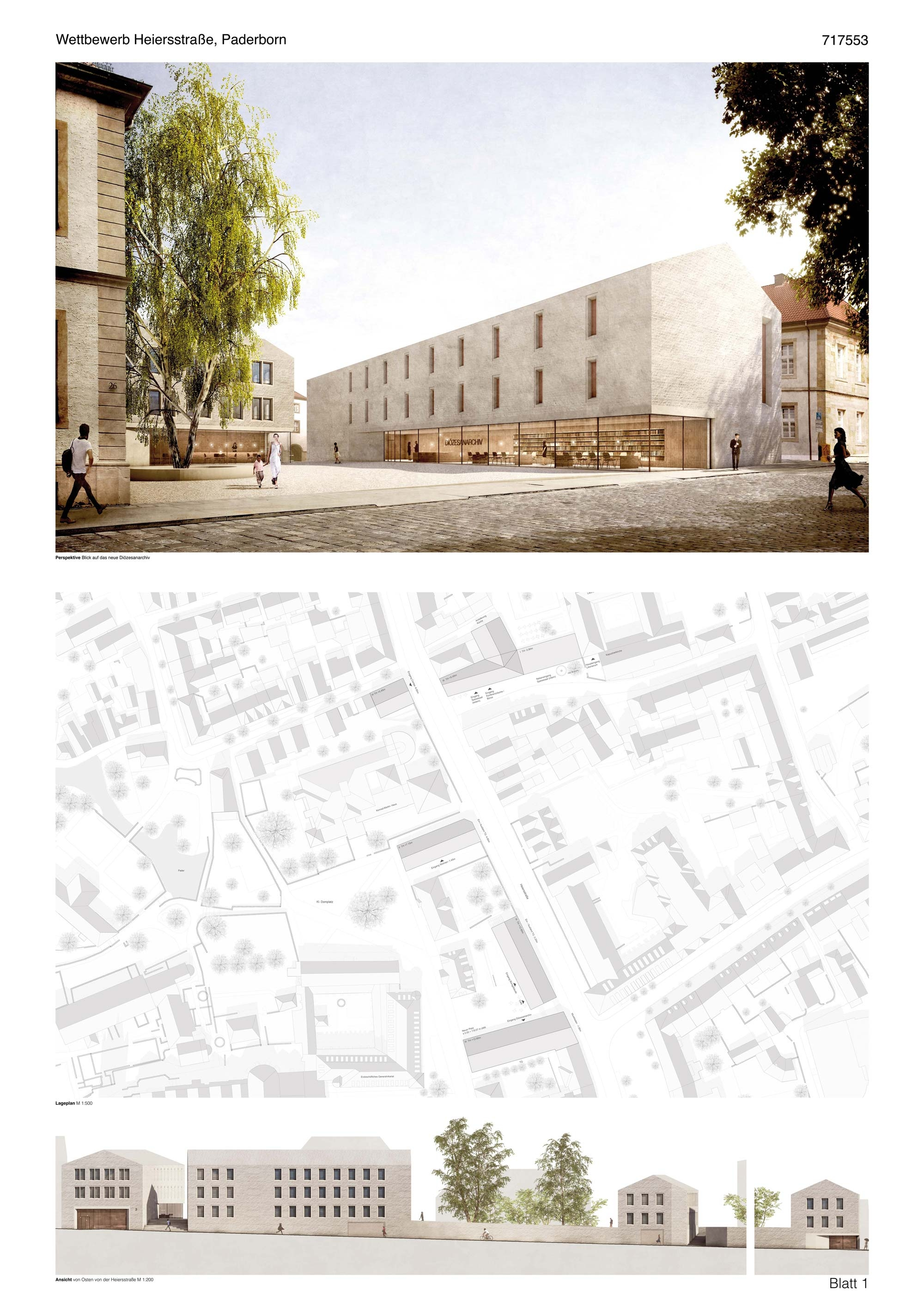 Architekt Paderborn ergebnis heiersstraße competitionline