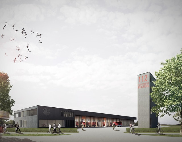Neubau Feuerwache in Wegberg