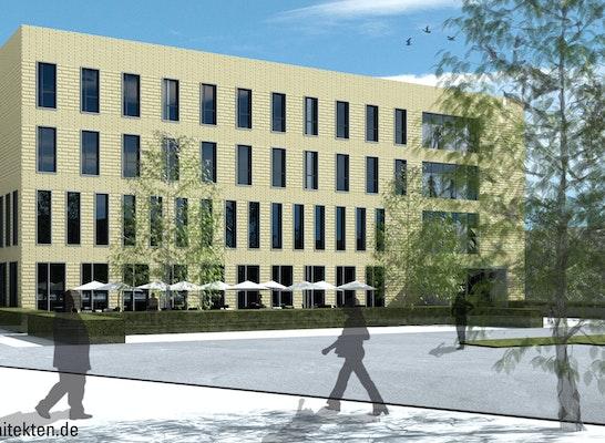 zuschlag haupteingang neubau fh bielefeld campus minden - Fh Bielefeld Bewerbung