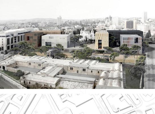 Auszeichnung finalist new campus for bezalel academy competitionline - Stadler architekten ...