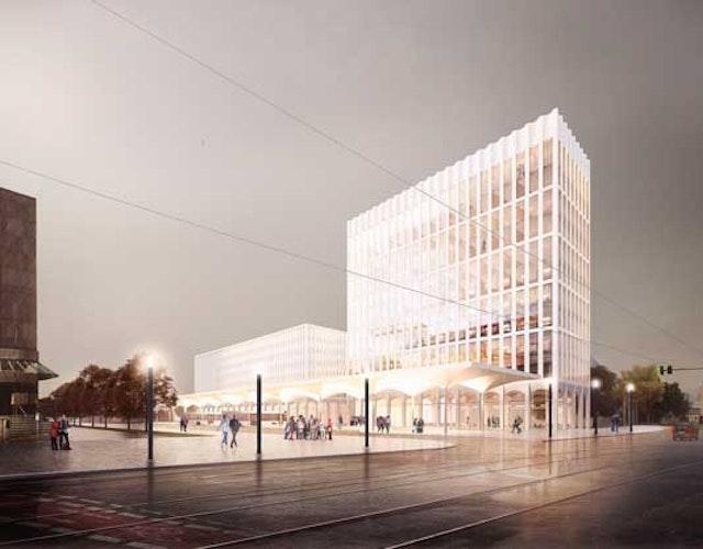 Neubau eines Fernbusterminals in Bremen