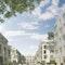 Perspektive Stadtpalais und Stadthäuser