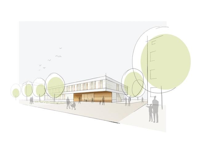 NAK Architekten   Blick von der Rathausstraße