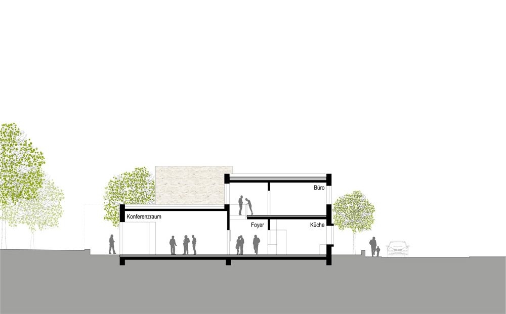 Architekt Stadtlohn 2 preis neubau pfarrheim st otger competitionline
