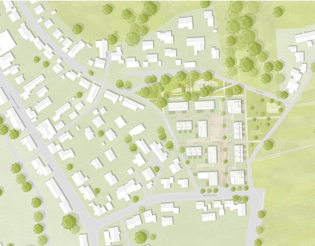 Entwicklung eines städtebaulichen Struktur- und Freiraumkonzepts Baugebiet Greut - Alexanderstraße/ Gollenholzweg Esslingen-Krummenacker