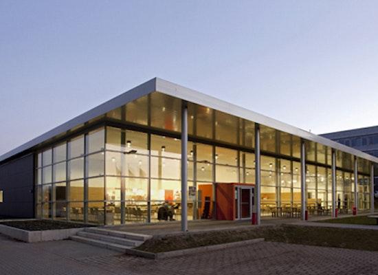 Projekt infrastrukturgeb ude fh dortmund competitionline for Fachhochschule architektur