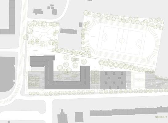 Neubau 4 Z 252 Giges Vitzthum Gymnasiums Mit Dreifachsp